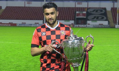 Maziar kouhyar wins first trophy with walsall fc for Home zone wallpaper walsall